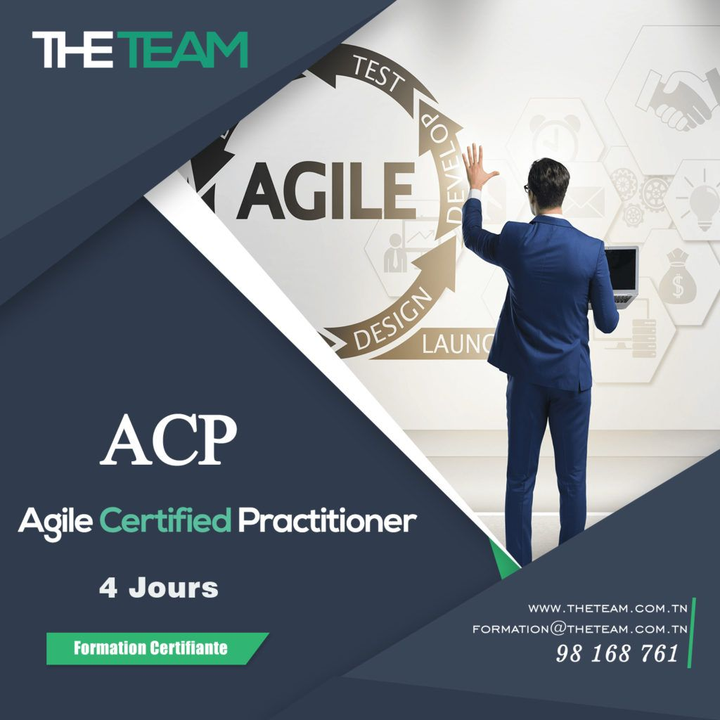 THE TEAM Tunisie Agile Management - Formation PMI-ACP : Agile Certified Practitioner