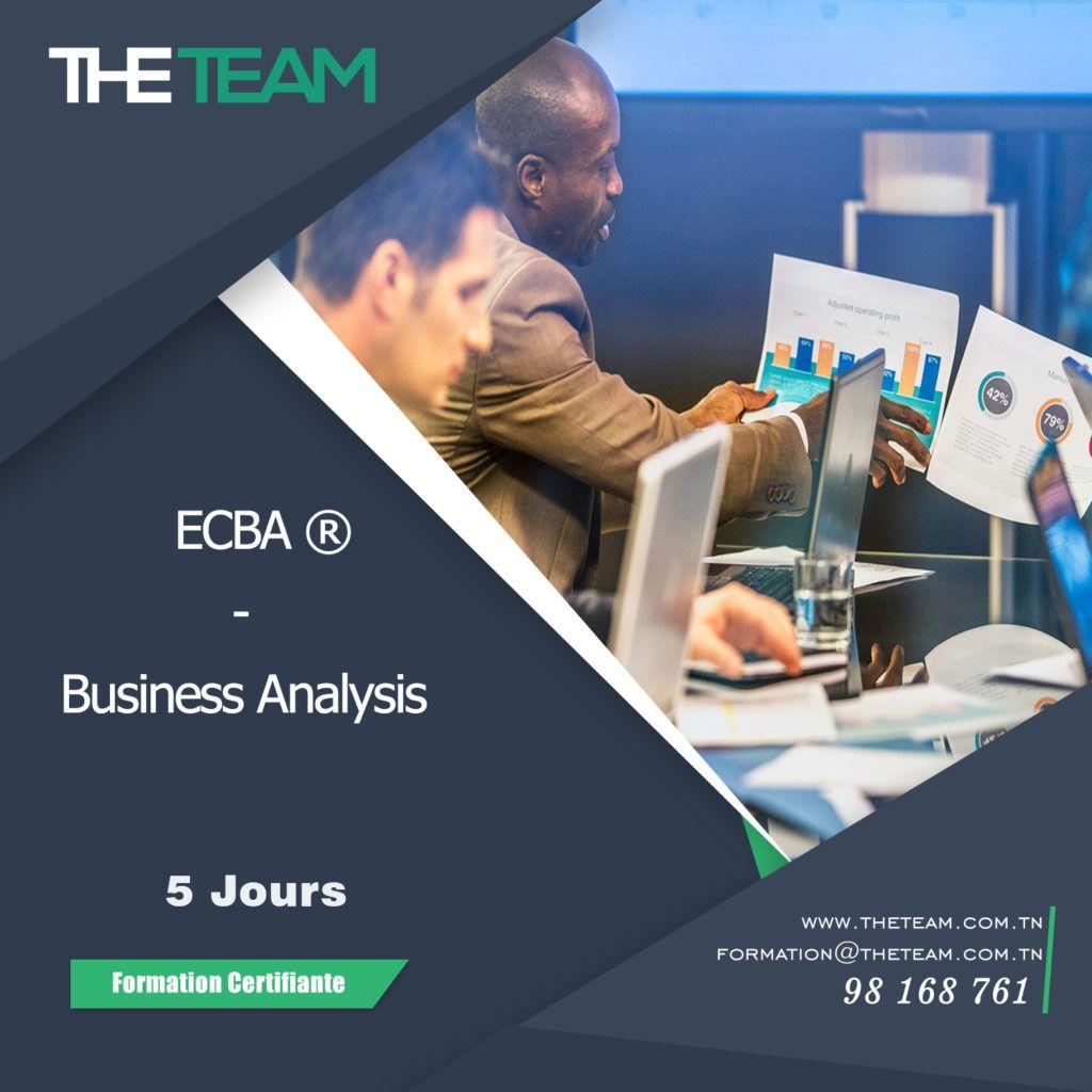 THE TEam Tunisie ECBA - Business Analysis